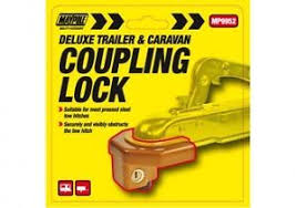 TRAILER & CARAVAN COUPLING LOCK