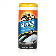 GLASS CLEANING WIPES